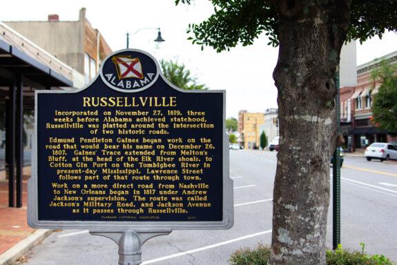 Russellville Sign