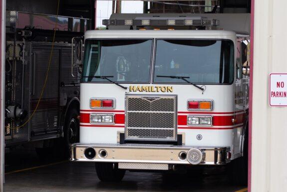 Hamilton Firetruck